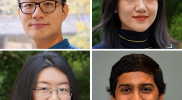 Four students involved in summer 2020 internships