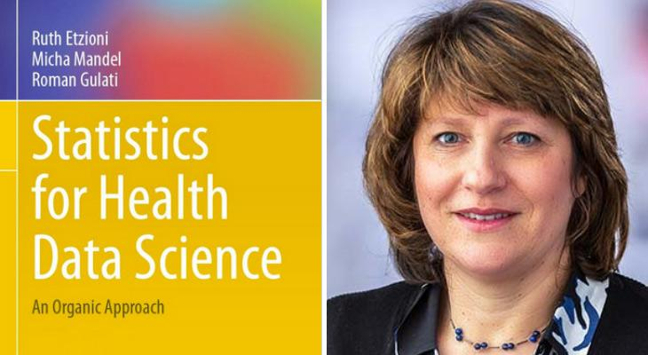 Statistics for Health and Data Science textbook with author Ruth Etzioni